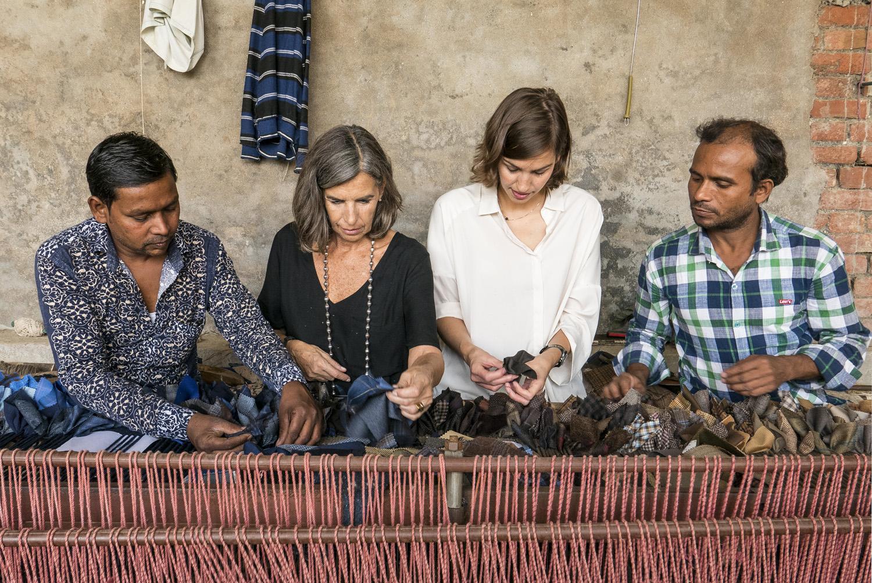 Artesanos de India y Pakistán confeccionan las alfombras de nanimarquina