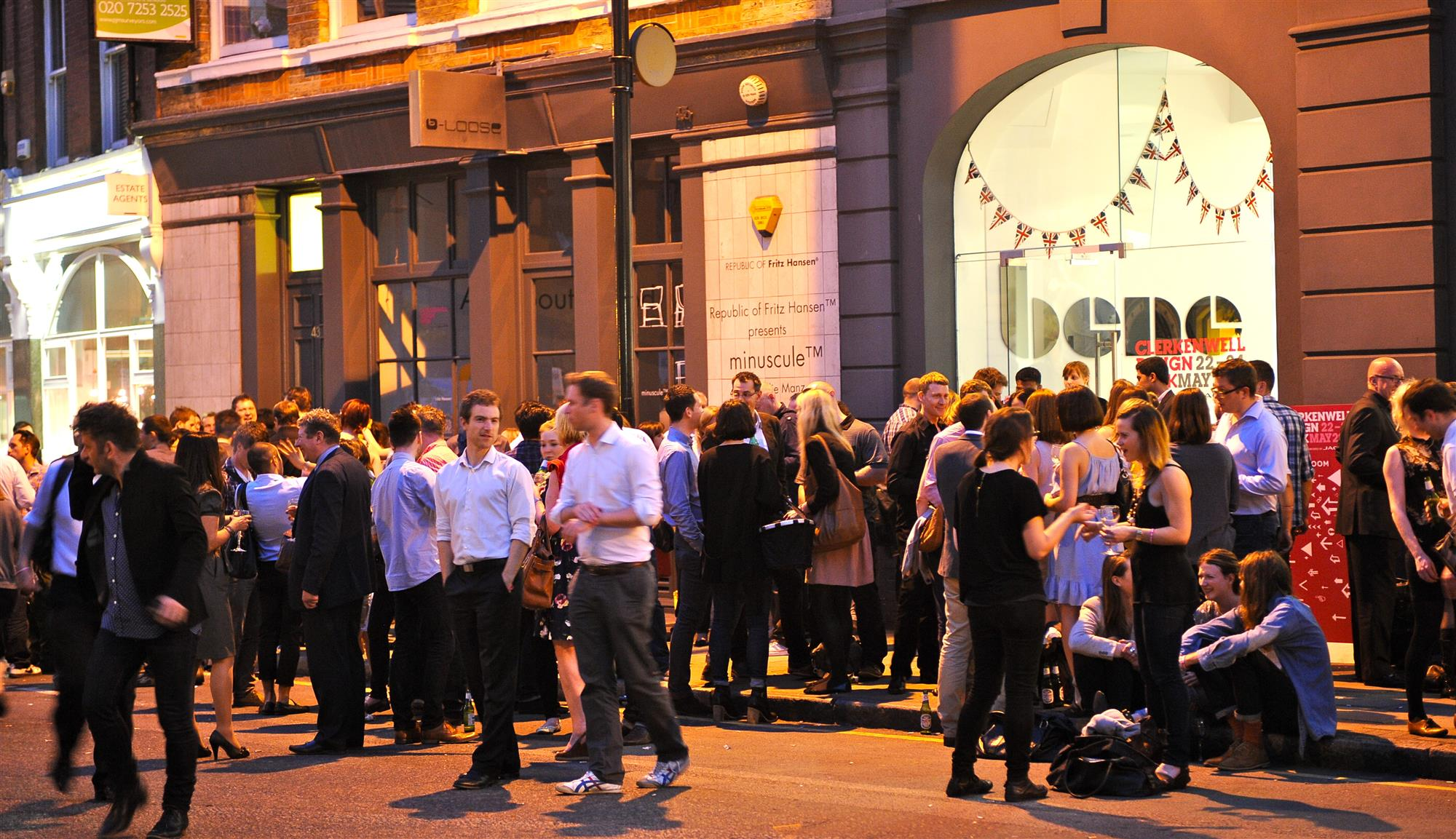 Es la gran fiesta del barrio de Clerkenwell.