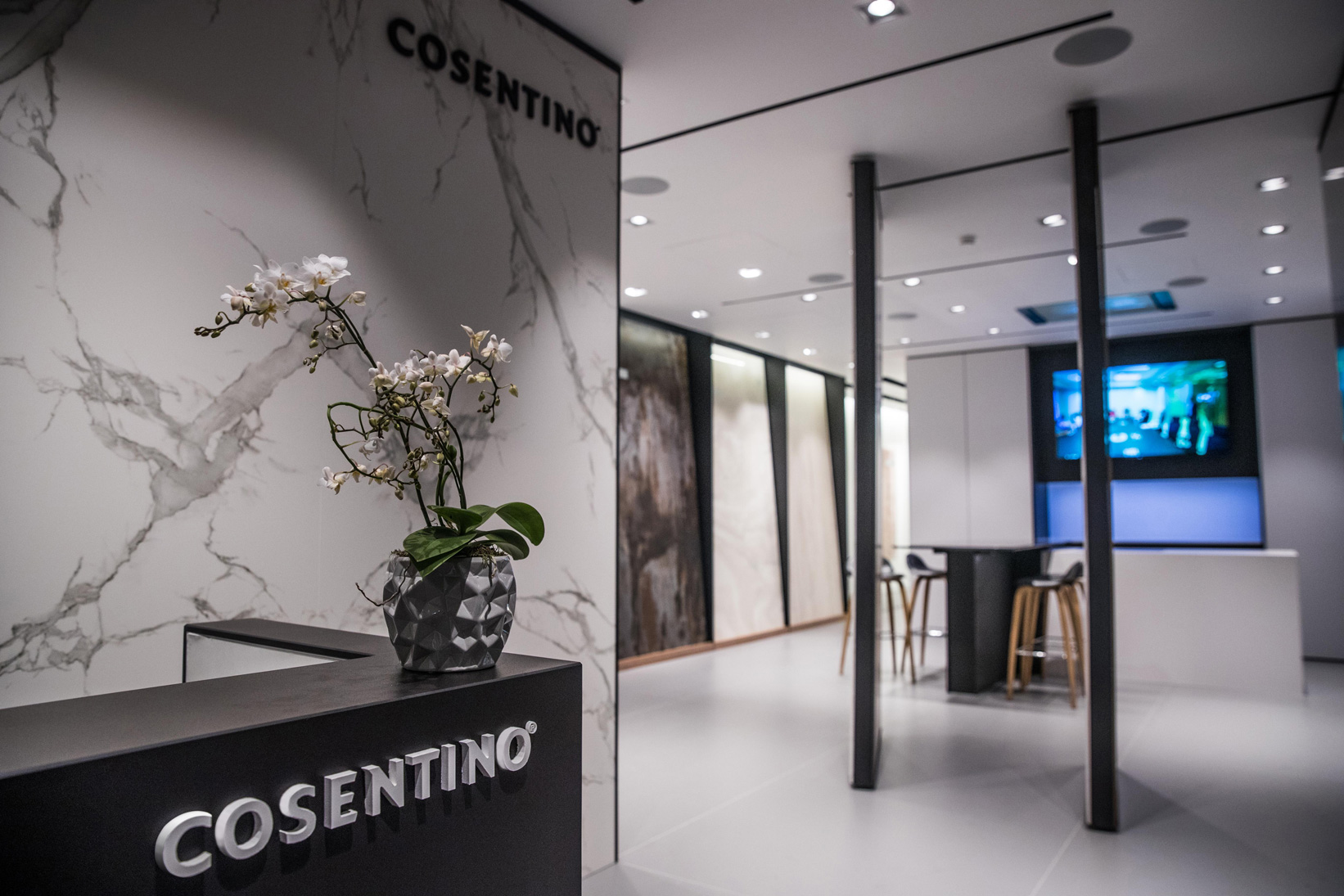Showroom de Cosentino City London.