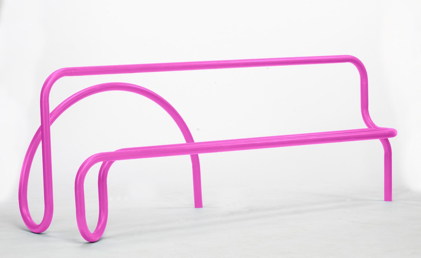 'Pipe line bench', del diseñador Lou Corio Randall, para la sección CDW Presents.