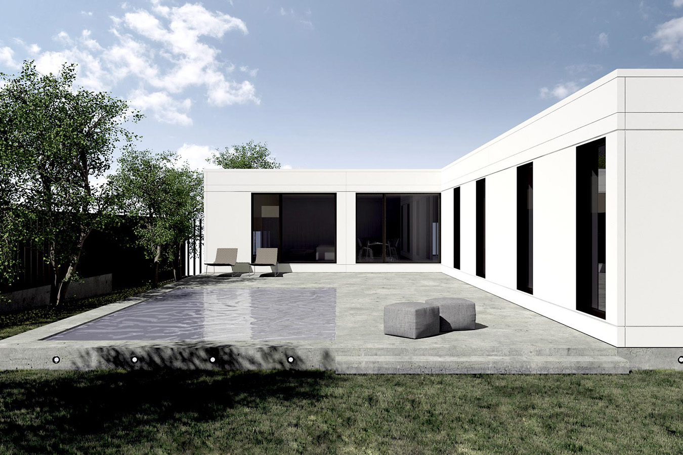 Casas prefabricadas en espa a para entrar a vivir for Casa moderna 80 metros cuadrados