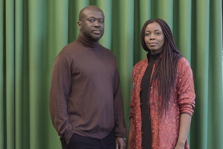 Sir David Adjaye y Mariam Kamara.