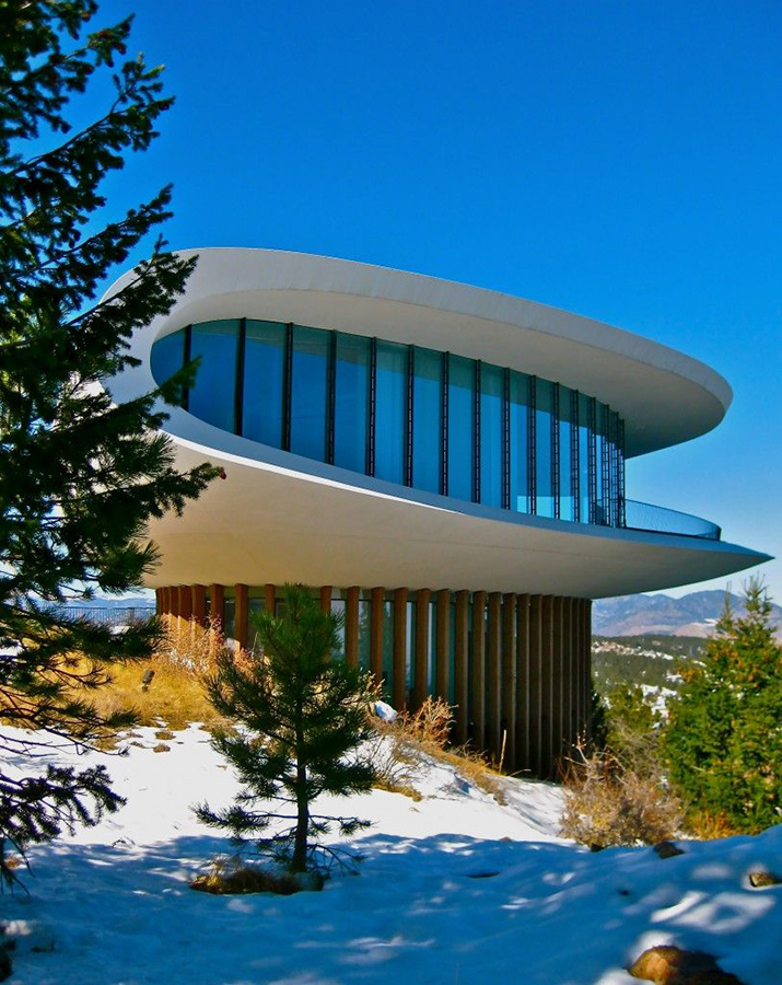 house carved el dormilon. [05] Sculptured House, Genesse Mountain, Colorado, Charles Deaton (1963)