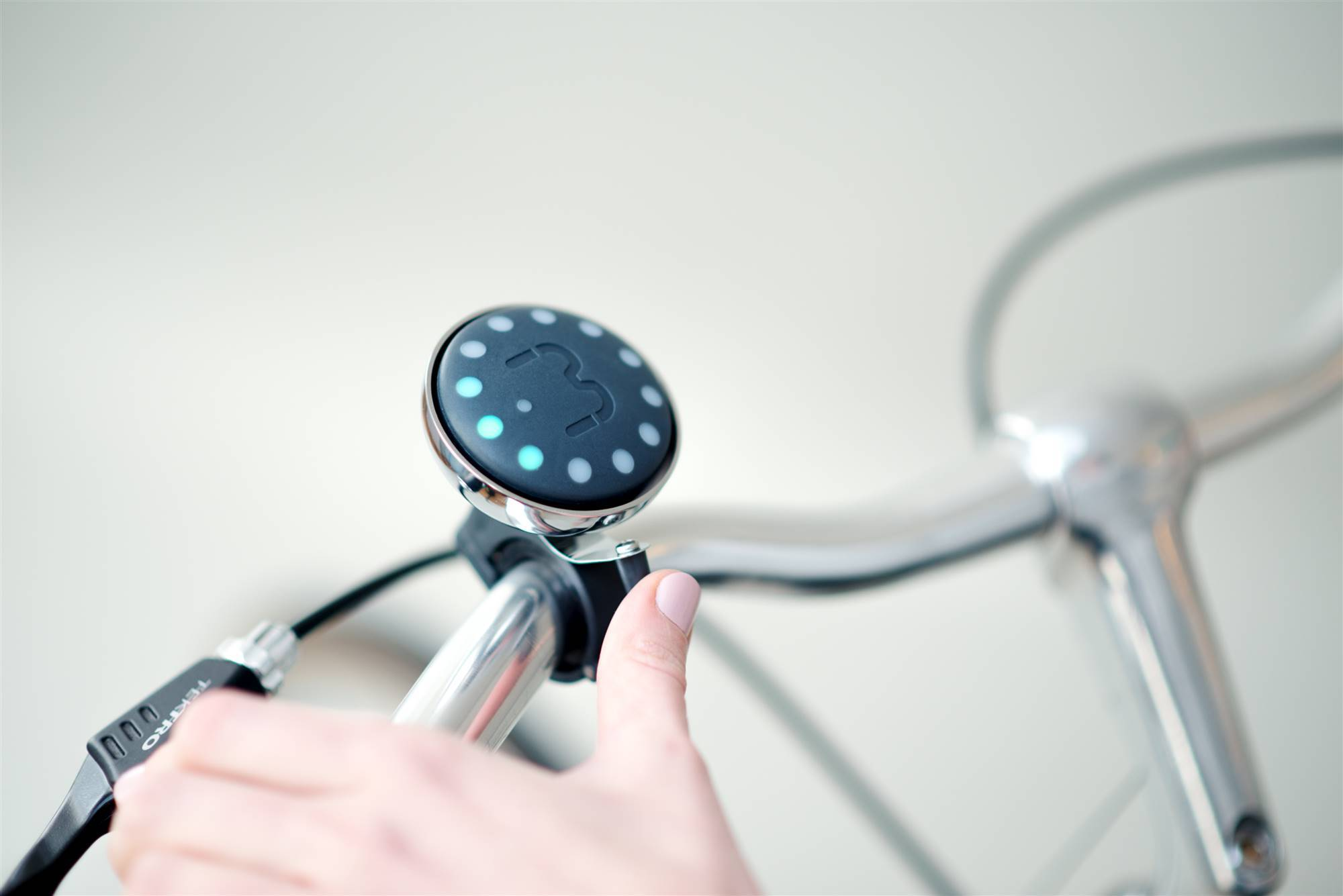 Timbre para bicis Blubel.