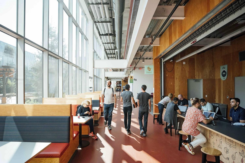 Nueva sede de Facebook, por Frank Gehry