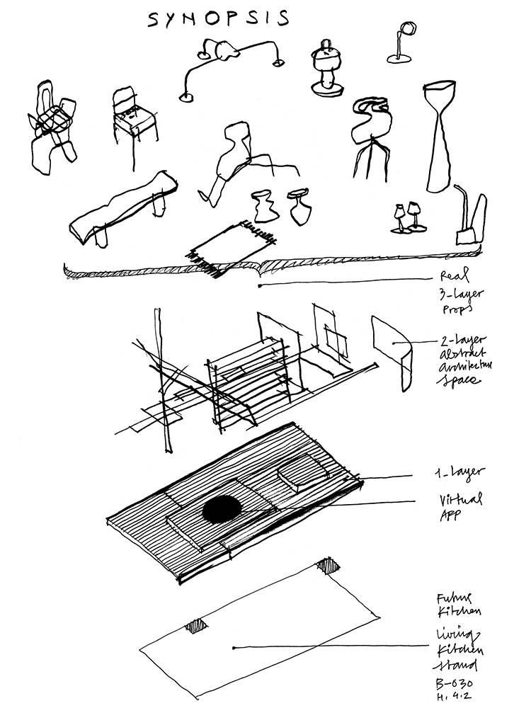 Concepto de cocina futura de Alfredo Häberli para LivingKitchen.