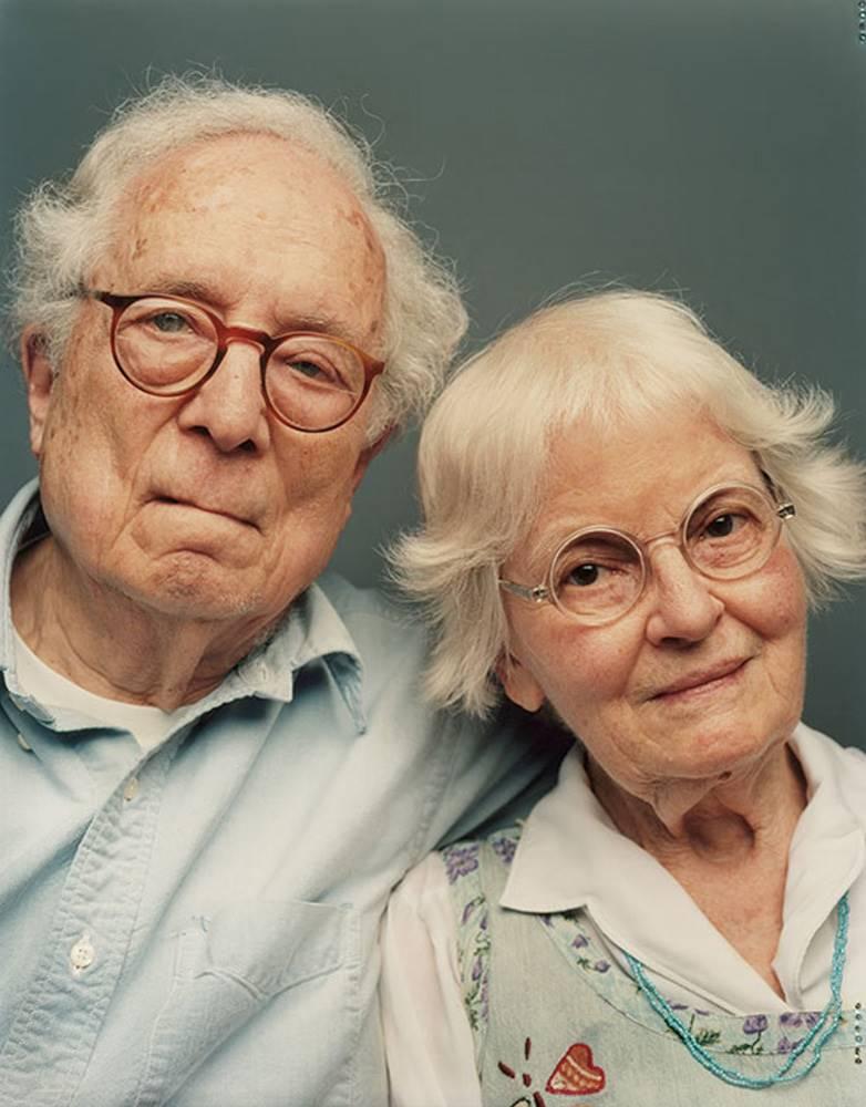 Robert Venturi y su esposa, la también arquitecta Denise Scott Brown.