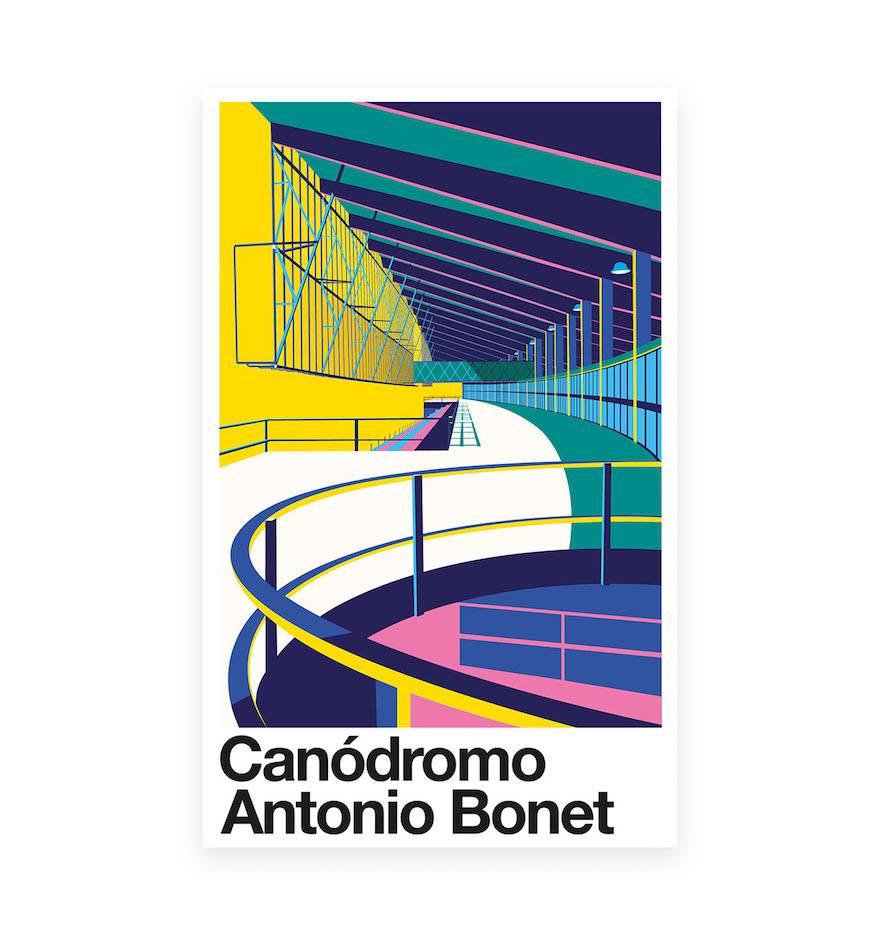 Canodromo de Meridiana de Antonio Bonet, por Santiago Restrepo.