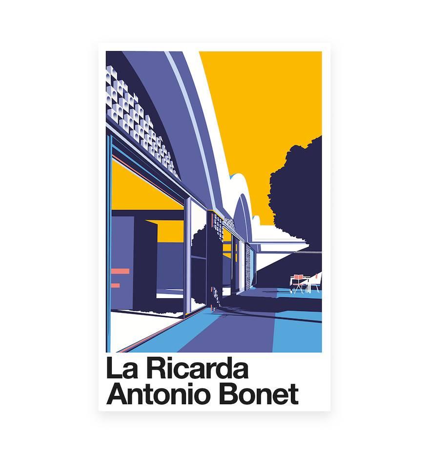 La Ricarda de Antonio Bonet, reinterpretada por Santiago Restrepo.