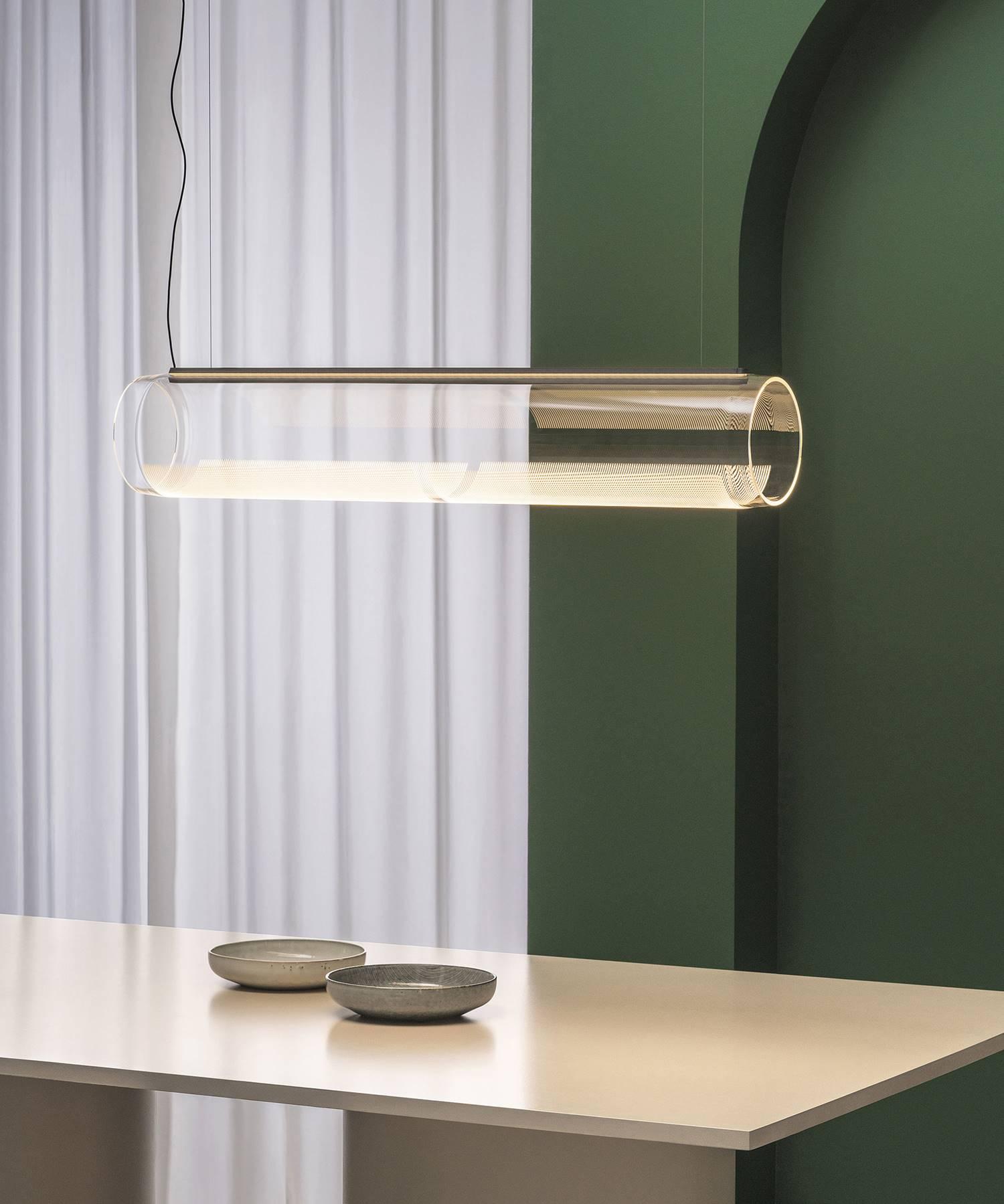 Lámpara LED Guise de Vibia.