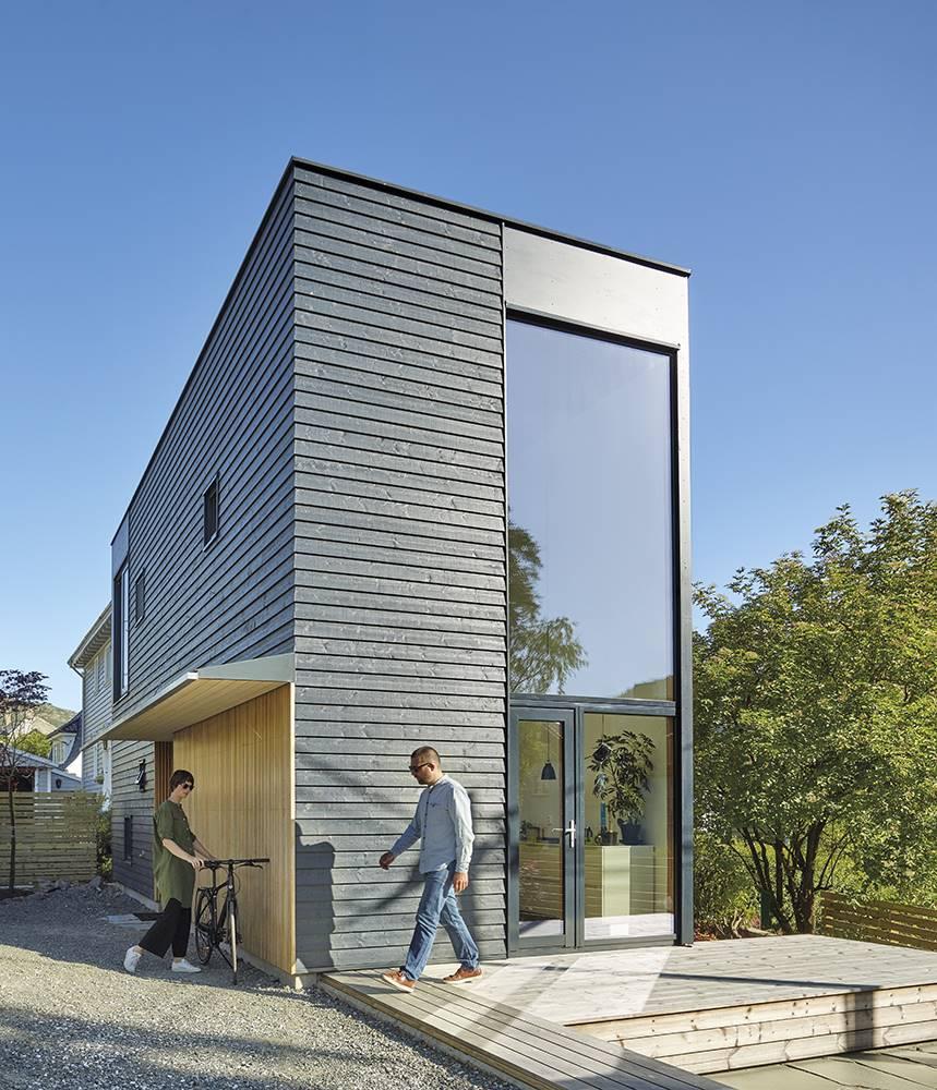 Una casa que amplía su espacio