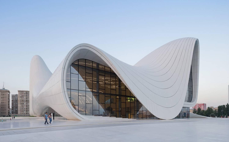 Centro cultural Heydar Aliyev, en Bakú