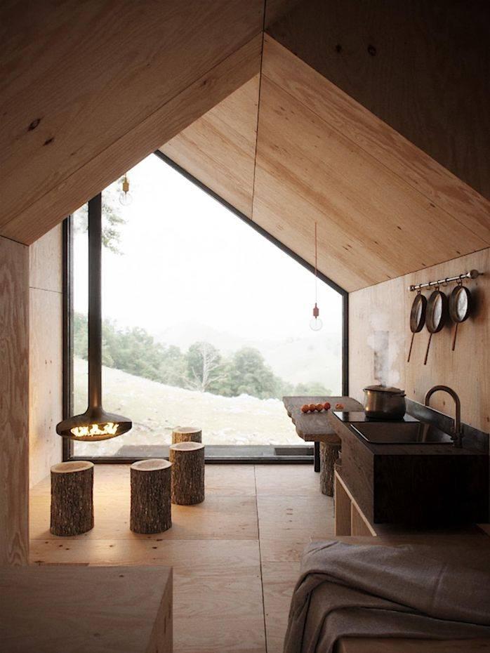 Casas de madera modernas for Casas de madera minimalistas