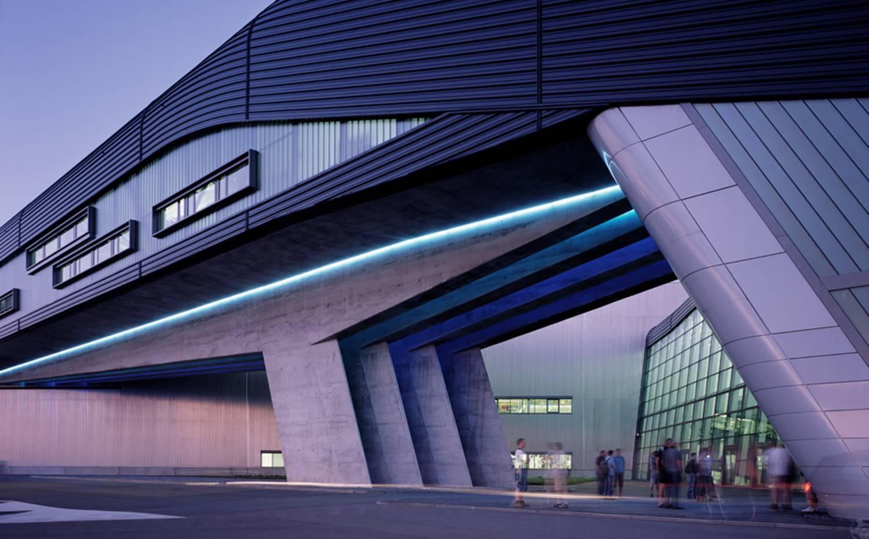Fábrica BMW en Leipzig.