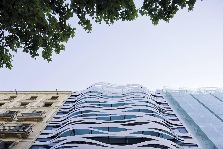 Hotel Suites Avenue, de Toyo Ito.