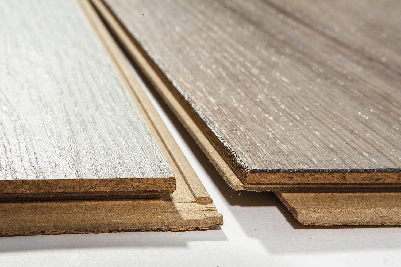 Suelos laminados con base de corcho y acabado madera, de la colección ArtComfort, Wicanders.