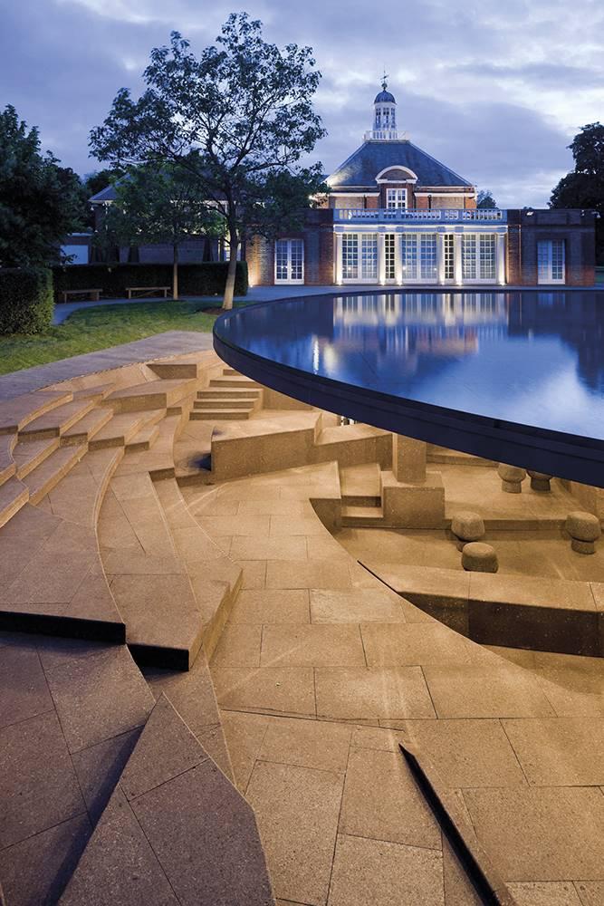 Pabellón de verano de la Serpentine Gallery 2012, de Herzog & de Meuron y Ai Weiwei.