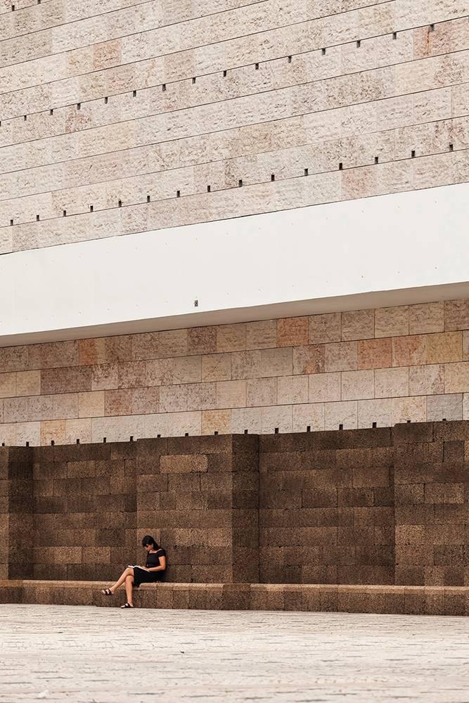 Centro Cultural de Belém, Lisboa, de Vittorio Gregotti y Manuel Salgado.