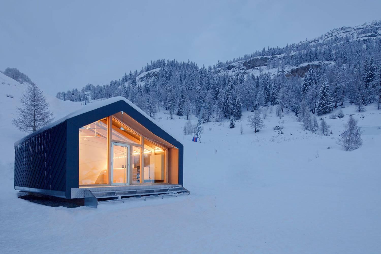 Casas Prefabricadas En La Nieve