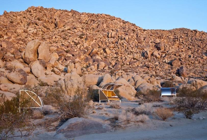 Arquitectura de otro planeta en el desierto de Joshua Tree