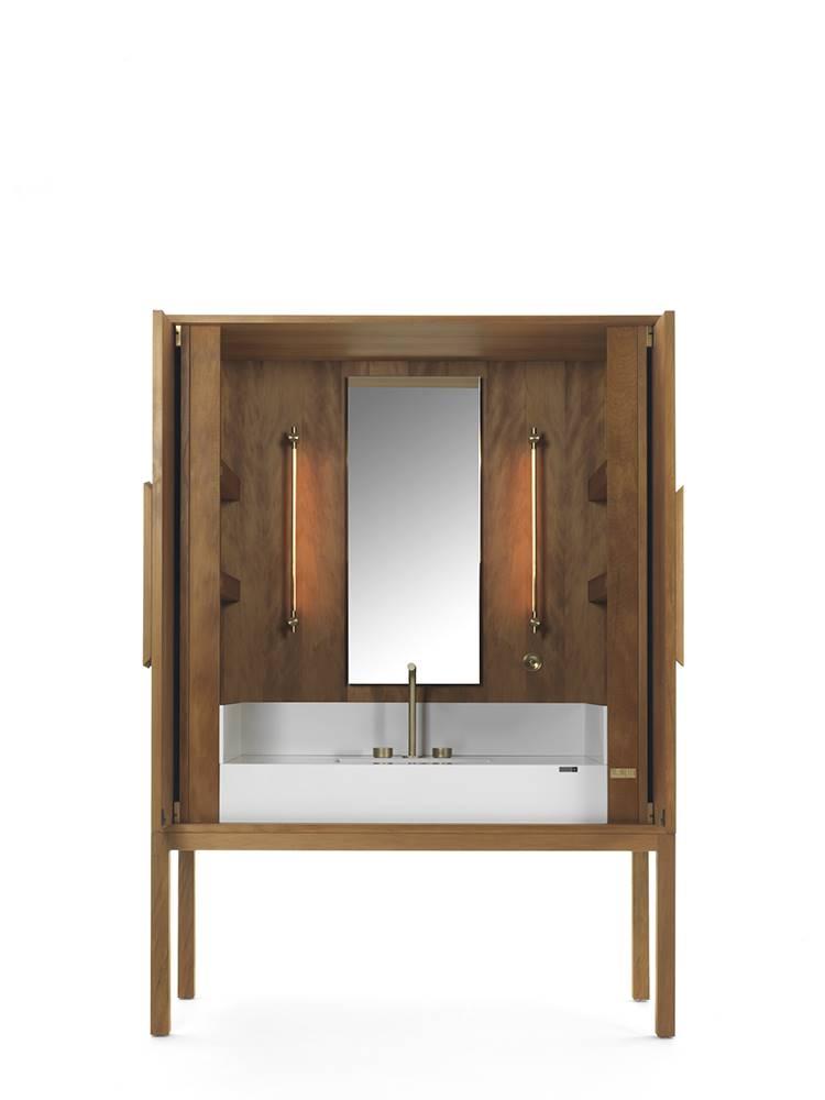 Credenza de baño DeKauri, de Daniel Germani.