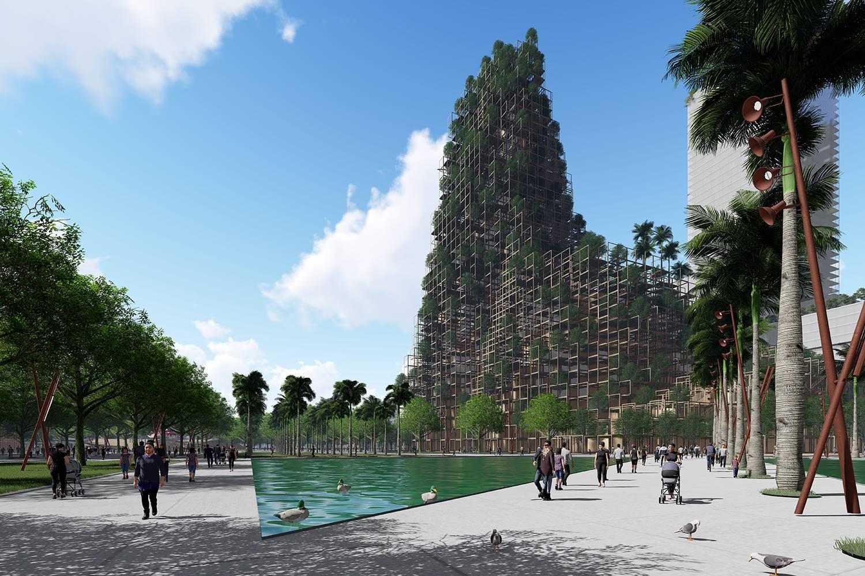 Nuevo centro urbano en Shenzhen, China, proyectado por Vicente Guallart.