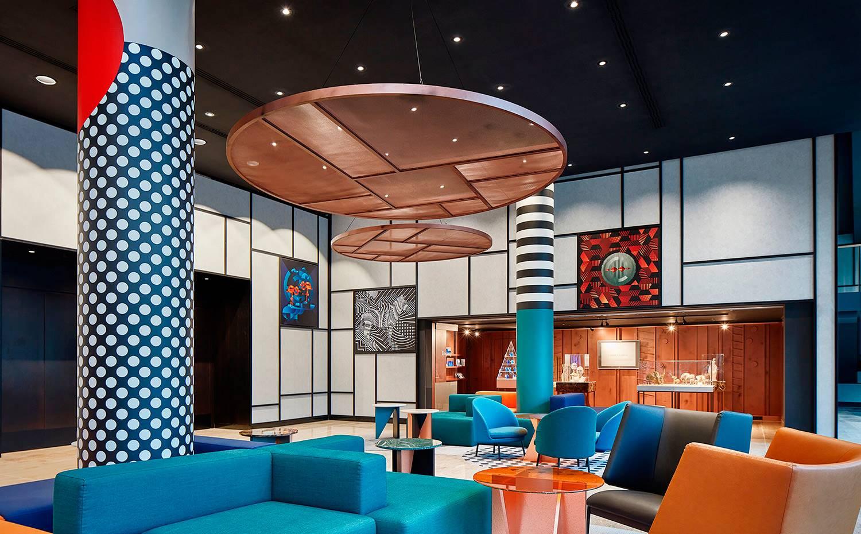 El hotel Pullman Berlin Schweizerhof es un ejemplo del estilo ecléctico de las hermanas Sundukovy.