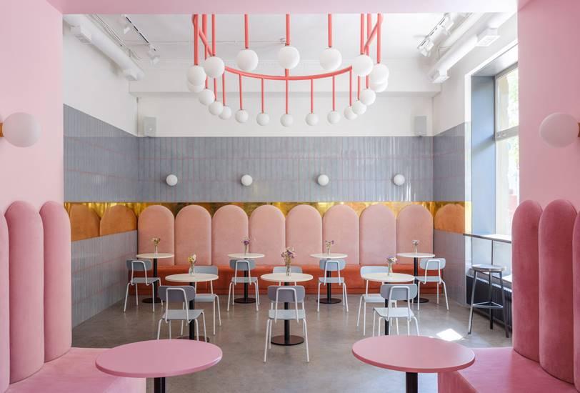 'Breadway', una panadería al estilo Wes Anderson