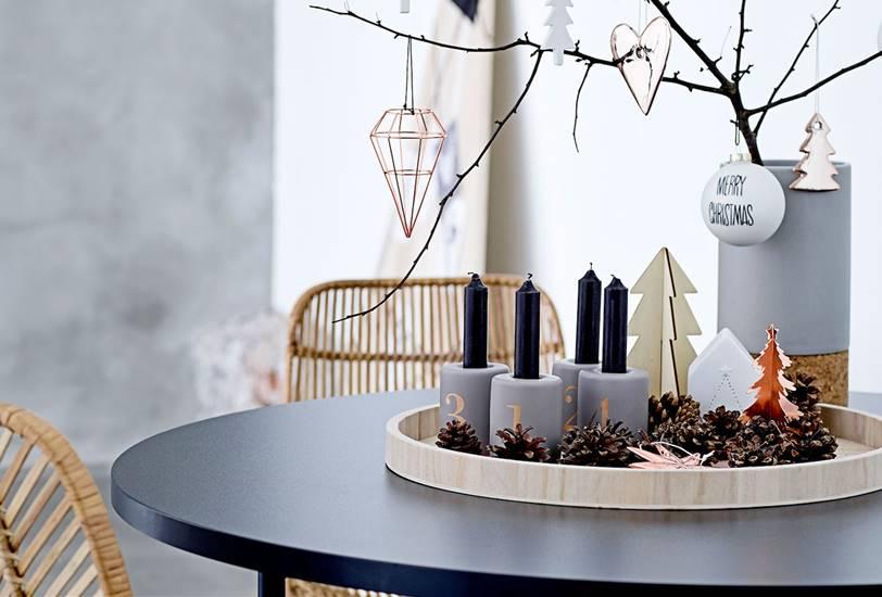 10 claves para decorar una mesa de Navidad