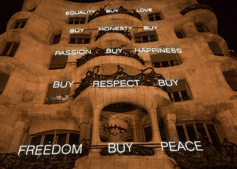 """Buy honesty"", dice la facha de La Pedrera"