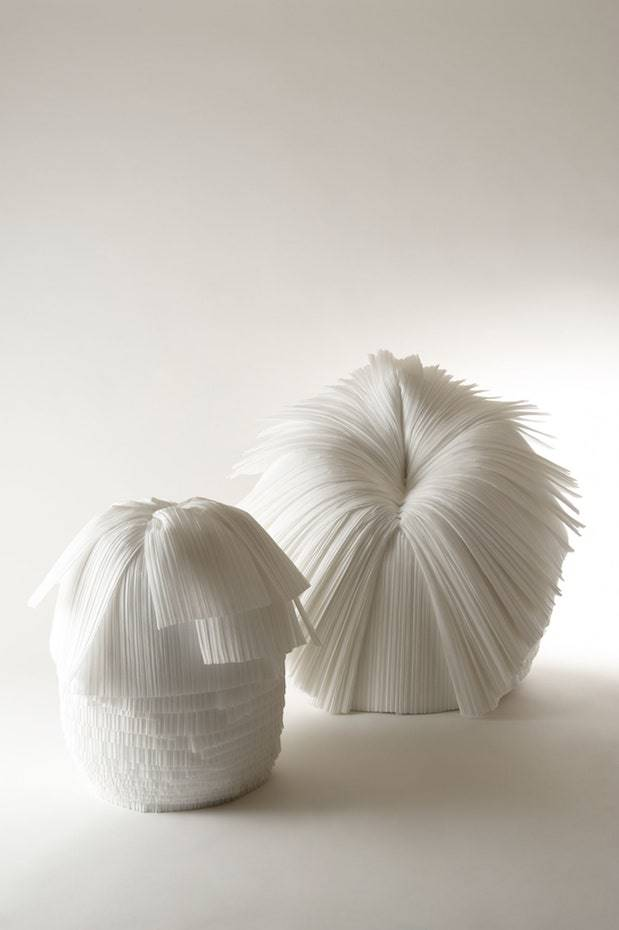 Cabbage Chair, por Nendo.