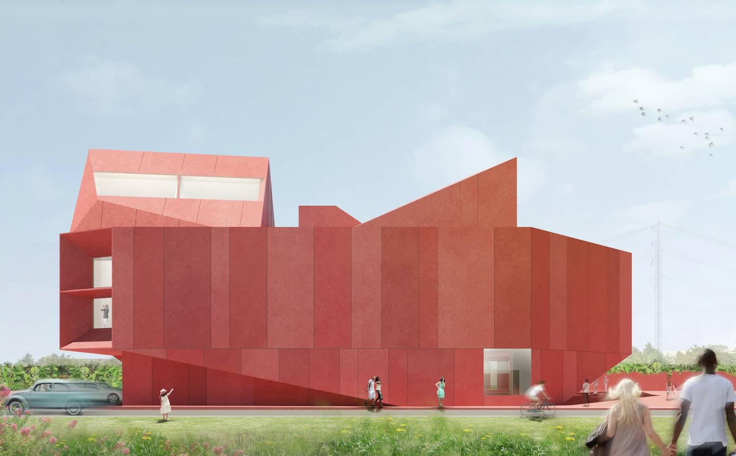 Ruby city for Linda Pace David Adjaye Associates. [03] Ruby city for Linda Pace, por David Adjaye. San Antonio (Texas)