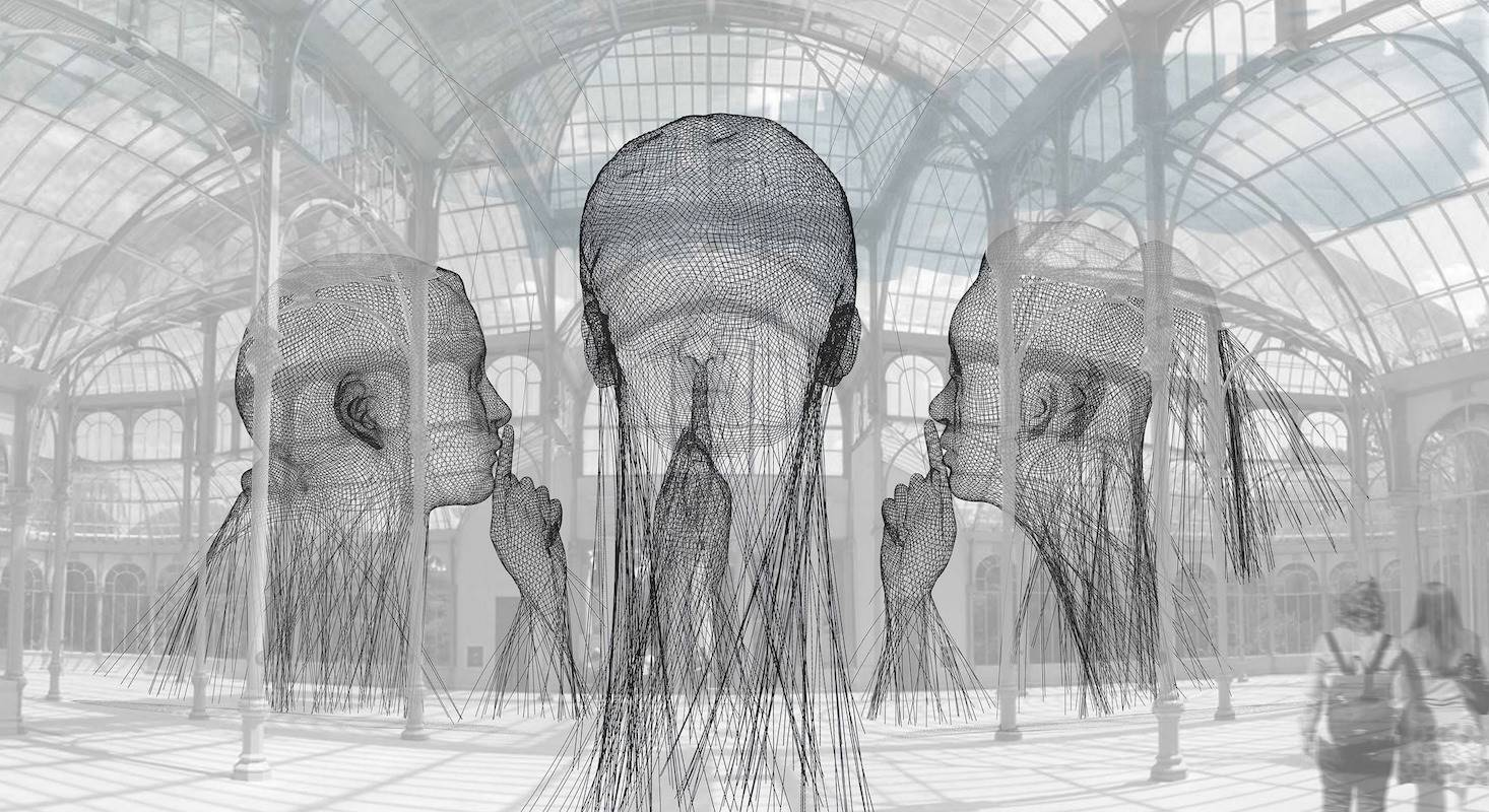 Invisibles, de Jaume Plensa.