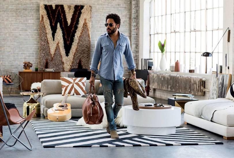 Lenny Kravitz decora tu casa prefabricada