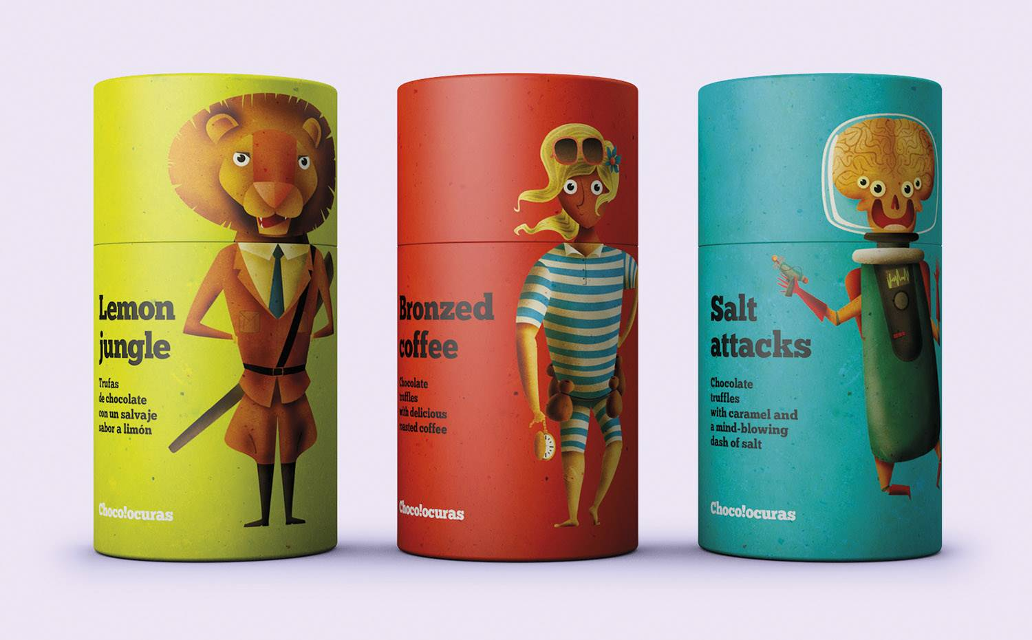 El trabajo de Supperstudio en la muestra Super-packaging.