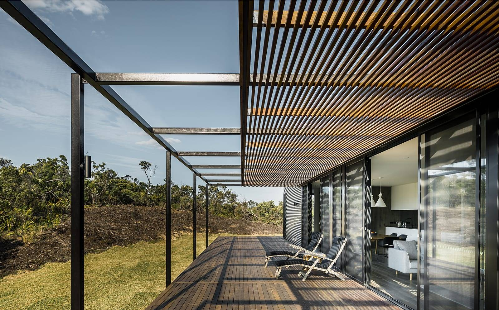 St. Andrews Beach House, por Pleysier Perkins Architects.