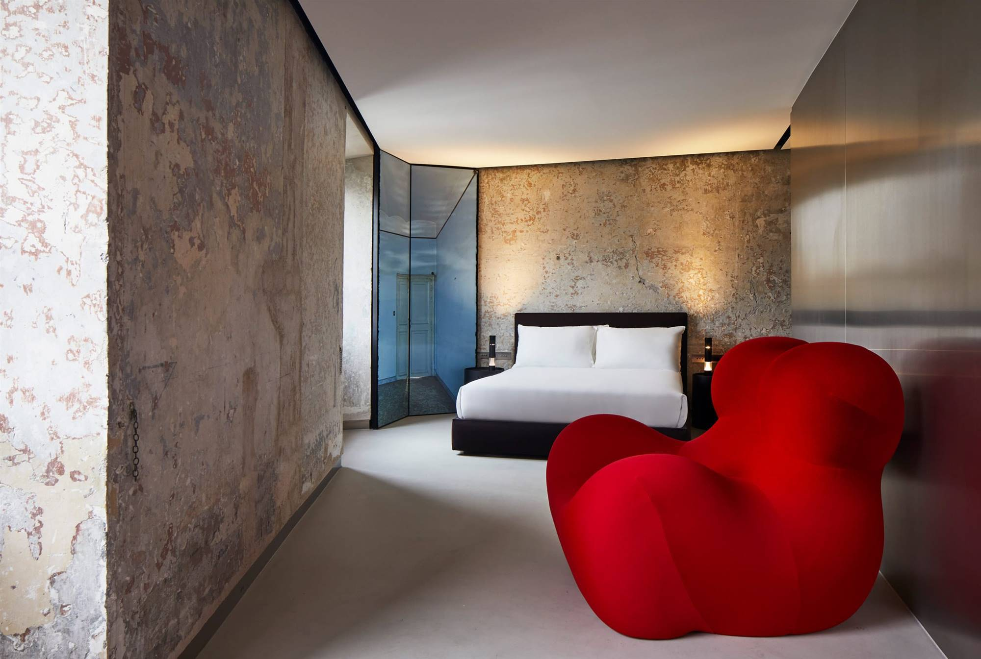 Hotel The Rooms of Rome, por Jean Nouvel.