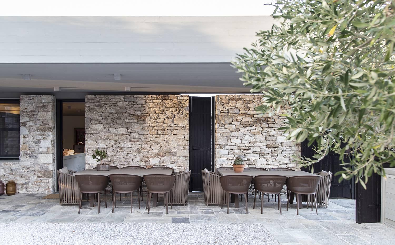 Una Casa Contemporánea En Grecia