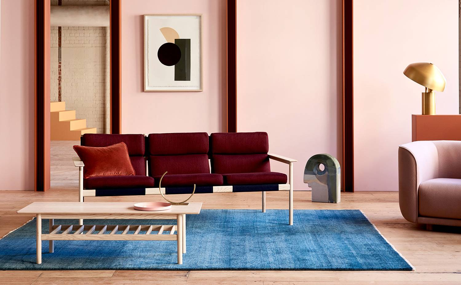 Tendencia Midcentury Colors. The Design Files Open House.