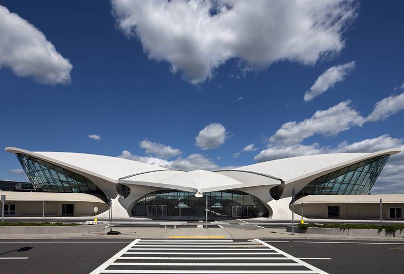 Exterior del TWA Flight Center.