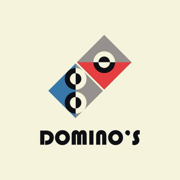 bauhaus-logos-99-designs-dominos pizza.