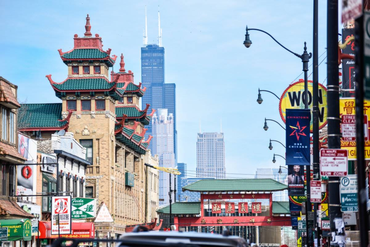 Chinatown Chicago. [] Chinatown Chicago