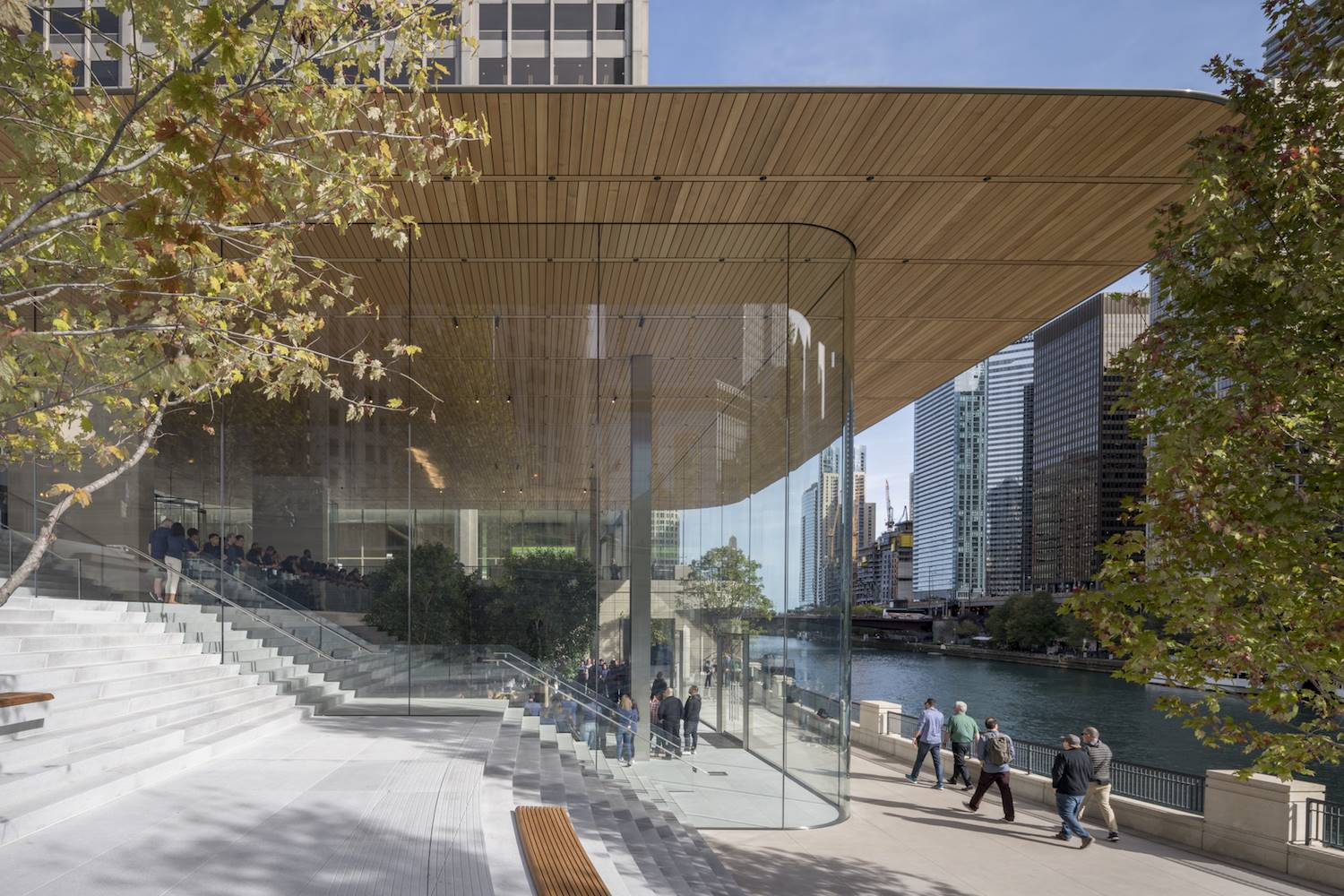 Apple Store en Chicago de Norman Foster