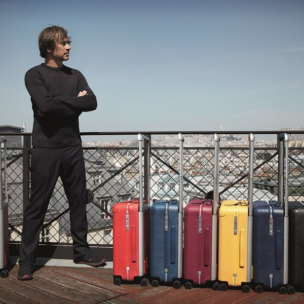 De viaje con Marc Newson y Louis Vuitton