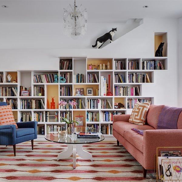 Santuario de libros, paraíso de gatos