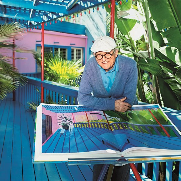 Hockney, un gran maestro del color