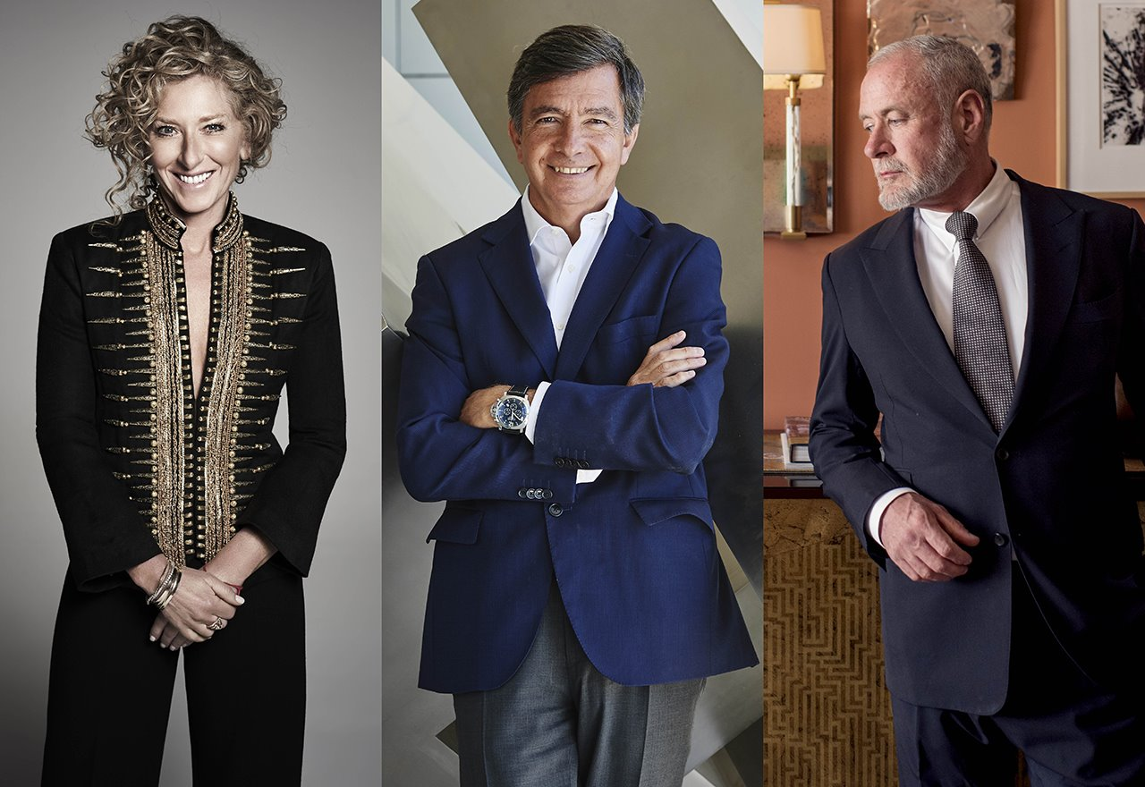 Kelly Hoppen, Carlos Lamela y William Sofield, premios honoríficos