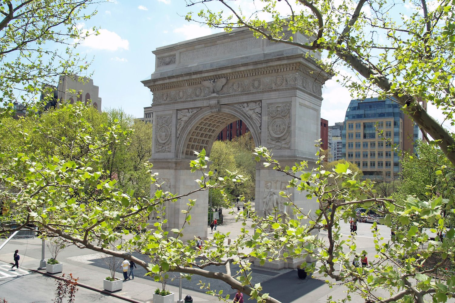 Arco de Washington Square, de Stanford White.