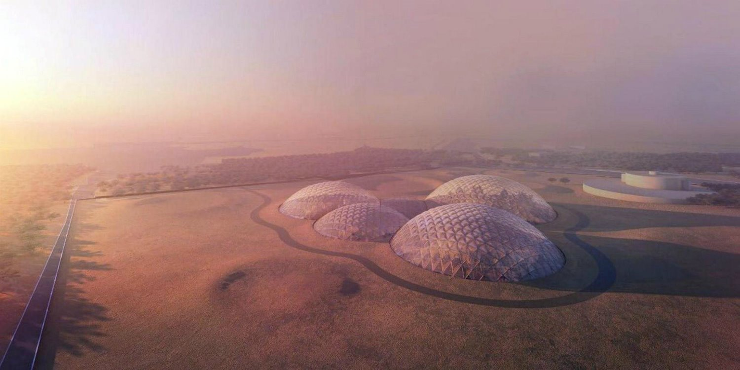 Mars Science City, de BIG Architects