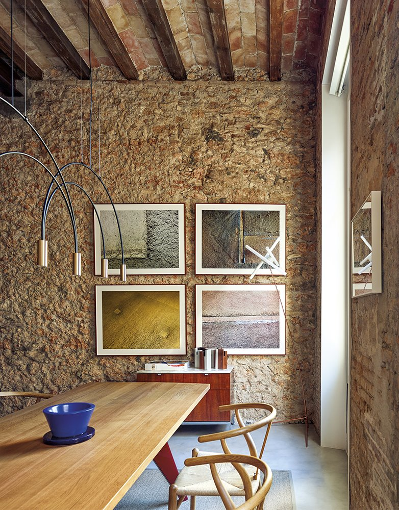 casa rardo architects pared de piedra boveda arte